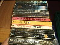 11 James Herbert Books.