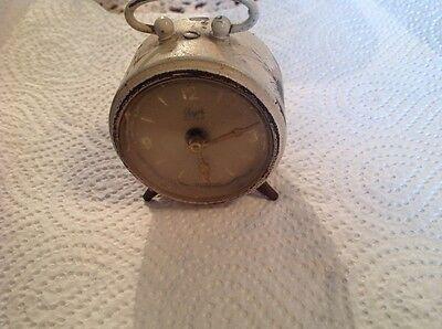 Antik kleiner Wecker Anker Vintage