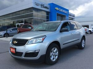2014 Chevrolet Traverse LS | 8-Seater | Bluetooth | Rear Cam