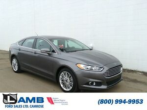 2014 Ford Fusion SE FWD Leather Navigation MyFord Touch Moonroof