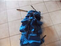 Berghaus Cyclops Echo Rucksack waterproof all zips work great rucksack