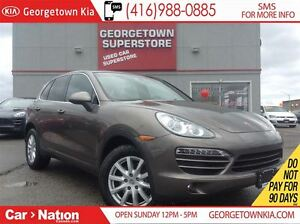 2011 Porsche Cayenne LEATHER|ROOF| NAVI| PURCHASED FROM PORSCHE