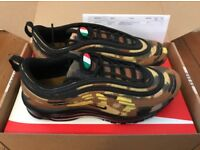 Nike Air Max 97 Camo Italy - size 10.5 - authentic, deadstock and still boxed.