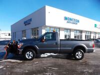 2012 Ford F-250 XLT REGULAR CAB/ With Plow