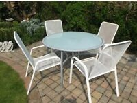 Large table + 4 Chairs -Good Condition -Cecil Road NR1