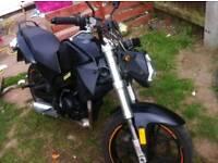 125cc Motohispania KTM Duke replica