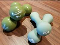 2 Pairs of Dumbbells