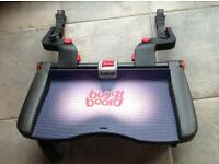 Lascal Buggy board with adaptors and hook and strap