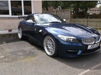 BMW Z4 35is AUTOMATIC CONVERIBLE 0-60 IN UNDER 4 SECONDS 45800 MILES SHOWROOM CONDITION IN RACECHIP