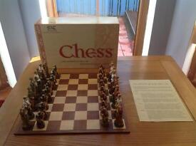 Studio Anne Carlton History of Golf Chess Set