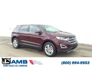 2017 Ford Edge SEL AWD with Intelligent Access, Leather Seats an