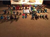 Skylanders trap team starter pack for PlayStation 3 game and extra figures and traps