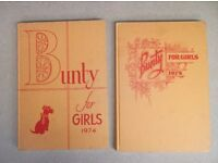 Bunty Annuals 1974 & 1975 + others