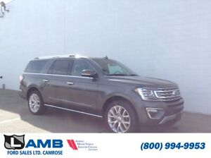 2018 Ford Expedition Limited Max 4x4 with Power Moonroof, Blind