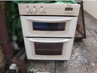Built in under counter double Hotpoint oven all working and clean £30