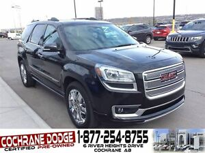2013 GMC Acadia Denali with REAR DVD!