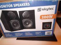 skytech speackers 200wats