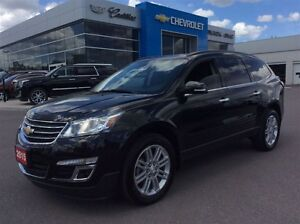2015 Chevrolet Traverse LT | 7 Seater | Bluetooth | Rear Cam
