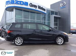 2013 Mazda MAZDA5 GT, Heated Leather, P. Sunroof, One owner!