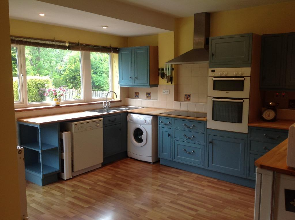Kitchen worktops sink and units for buy sale and trade ads for Blue kitchen units sale