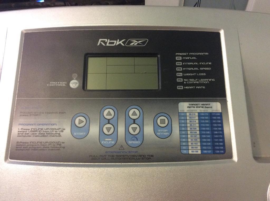 Reebok Treadmill In Uxbridge London Gumtree