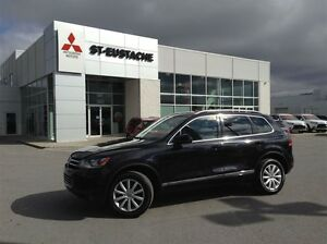 2013 Volkswagen Touareg 3.6L Highline** CUIR**MAGS ** TOIT OUVRA