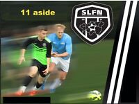 Join 11 aside football team in London, play football in london, join sunday team,play soccer