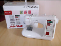 Janome CXL301 Sewing Machine*Immaculate Condition*Boxed + Instructions
