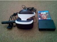 Play station vr headset