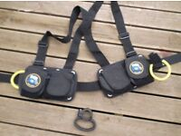 weight belt and cylinder handle