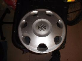 3 Vauxhall Wheel trims from W reg Corsa