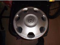 3 Vauxhall Wheel trims from W reg Corsa