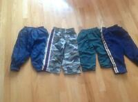 Boys lined pants