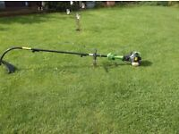 """Handy Strimmer with Extension Shaft approx 87"""" from Engine To Line Head"""