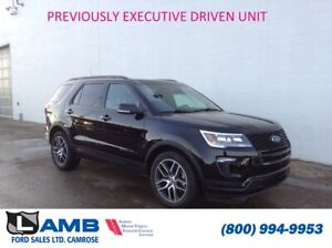 2018 Ford Explorer Sport 4WD *Previous Executive Driven Vehicle*