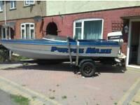 Boat Speedboat outboard