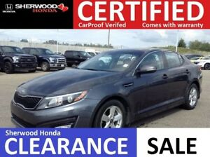 2014 Kia Optima LX w/Sunroof| HEATED SEATS|GARAGE DOOR OPENER