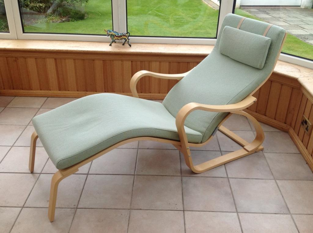 Ikea poang recliner lounge chair in colinton edinburgh for Ikea club chair