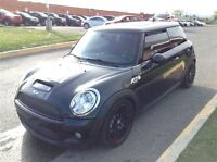 2007 MINI Cooper Hardtop JC COOPER  RED LEATHER MOONROOF MANUAL