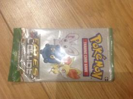 Pokeman TCGXY Fates Collide Sample Booster Packs (3card pack) New Sealed