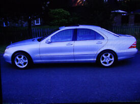 ** REDUCED ** 2002 mercedes s class s320 long mot