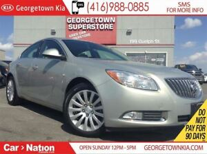 2011 Buick Regal CXL | LEATHER | SUNROOF | HEATED SEATS |