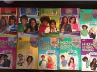 High school musical 1-10 books