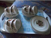 SUSIE COOPER 18 PIECE TEA SET FOR SALE