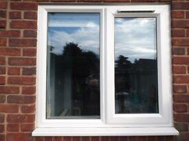 Window frames (2) - White pvc