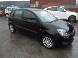 FORD FIESTA 1.4 TD STYLE CLIMATE 5DR,11 MONTHS MOT,£30 A YEAR ROAD TAX
