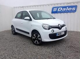 Renault Twingo Play 1.0 SCE 5Dr Hatchback (solid - crystal white) 2016
