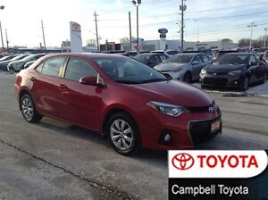 2014 Toyota Corolla S LOCAL TRADE---1 OWNER---HEATED CLOTH