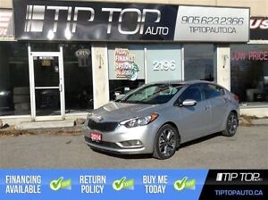 2014 Kia Forte EX ** LOADED, Nav, Leather, Bluetooth **