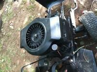 18 hp opposed twin motor (needs carb)